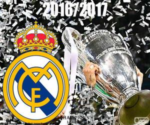 Układanka Real Madrid, Champions League 2016-2017