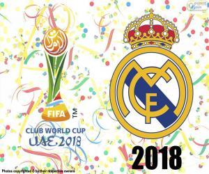 Układanka Real Madrid, mistrza świata 2018