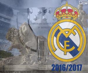 Układanka Real Madrid, mistrza 2016-2017