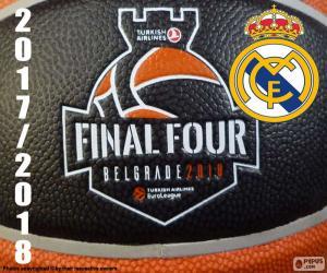 Układanka Real Madrid, mistrza Euroligi 2018