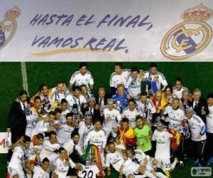 Układanka Real Madryt mistrz Copa del Rey 2013-2014
