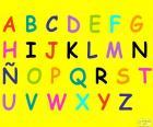 Alfabet z literami