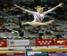 Gimnastyka artystyczna - Ćwiczenia w belki wagi