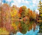 Krajobraz Jesień