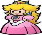 Piękna księżniczka z jej korony