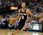 Tony Parker gra w koszykówkę