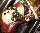 Boże Narodzenie uruchomić pełen prezentów i ozdób