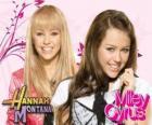 Miley Stewart / Hannah Montana (Miley Cyrus) na jego znaków