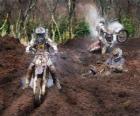 Motocross dużo błota