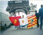 Flag of Real Zaragoza