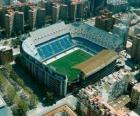 Stadium of Valencia CF - Mestalla -