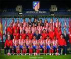 Zespół Atlético Madryt 2008-09