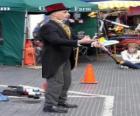 Clown robi jugglings