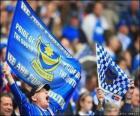 Flag of Portsmouth FC