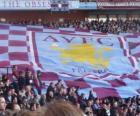 Flaga Aston Villa FC