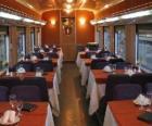 Wagon pociągu - Restauracja -