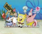 SpongeBob i kilku jego znajomych
