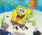 SpongeBob jest bardzo ożywiony gąbka morska