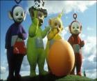 Teletubisie: Laa-Laa, Tinky Winky, Dipsy i Po