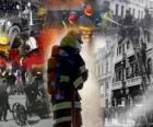 Kilka zdjęć strażaków