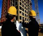 Technik konsultacji samolotu prace budowlane - Architekt, budowniczy majster, inspektor ilości lub inżyniera