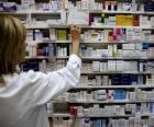 Farmaceutyczny, biorąc leki