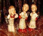 Anioły śpiewanie kolęd