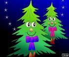 Dwóch drzewek na Boże Narodzenie