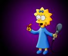 Małe Maggie gotowa śpiewać