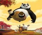 Kung Fu Master Shifu kopie z tyłu PO