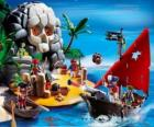 Playmobil Piraci Scene