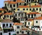 Typowe domy wsi Câmara de Lobos - Madera - (Portugalia)