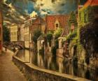 Historyczne centrum miasta Brugia, Belgia