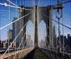 Most wiszący nad rzeką, New York