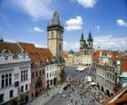 Historyczne centrum Pragi, Czechy.