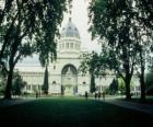 Royal Exhibition Building i Carlton Gardens, zaprojektowany przez architekta Józefa Reed. Australia