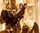 Księcia i księżniczki miłośników pięknych koni