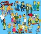 Kilka postaci z The Simpsons