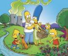 Rodzina Simpsonów w dniu pikniku