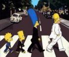 Rodzina Simpsonów po drugiej stronie ulicy bardzo eleganckie