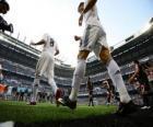 Cristiano Ronaldo i Kaka opuszczeniem boiska