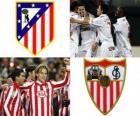 Final Copa del Rey 09-10, Atlético de Madrid - FC Sevilla