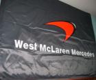 Flaga McLaren F1