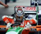 Adrian Sutil - Force India - Sepang 2010