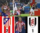 Europa League Final 2009-10 Atletico Madrid 2 - Fulham FC 1