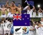 Wybór Nowa Zelandia, Grupa F, RPA 2010