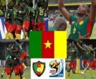 Wybór Kamerun, grupy E, RPA 2010