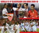 Sevilla FC 4 Liga BBVA niejawne 2009-2010