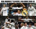 2 miejsce w Realu Madryt BBVA League 2009-2010