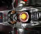 Lewis Hamilton koncentracji - McLaren - Monte Carlo 2010